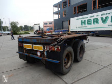Renders container semi-trailer 20 FT / Steel suspension / Double montage / BPW