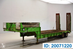 Semiremorca transport utilaje Gheysen et verpoort Low bed trailer