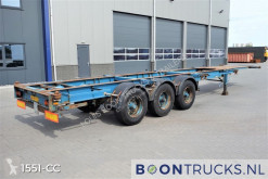 Semi remorque porte containers Renders ROC 12.27 CC 40 | 20-30-40-45ft * FIXED CONTAINER CHASSIS