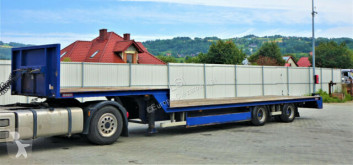 Renders heavy equipment transport semi-trailer 12.20 NA Tieflader*Topzustand!
