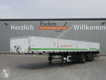 Ackermann PS-F 18/11,5 Pritsche, gelenkte Achse, Luft/Lift semi-trailer used dropside flatbed
