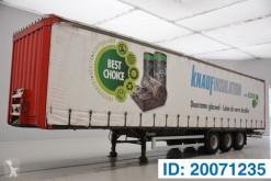 Krone Tautliner semi-trailer used tautliner