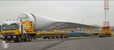 Semi remorque Broshuis 4 axle 53m wing trailer (3pcs) plateau occasion