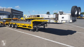 Broshuis heavy equipment transport semi-trailer E-2190/27 6m extendable (2 pieces)