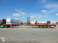 Kromhout 3AOUH-16-27 semi-trailer used flatbed