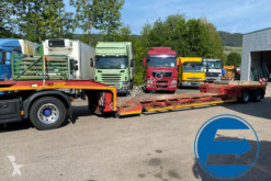 Broshuis 22 H5-L AUSZIEHBAR semi-trailer used heavy equipment transport