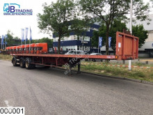 Robuste Kaiser flatbed semi-trailer open laadbak 53000 KG, Extendable