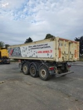 Schmitz Cargobull SKI semi-trailer used construction dump