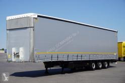 Félpótkocsi Schmitz Cargobull - FIRANKA / MEGA / XL / MULTI LOCK / DACH PODNOSZONY használt ponyvával felszerelt plató