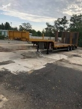 General Trailers heavy equipment transport semi-trailer