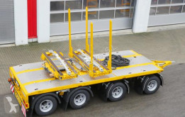 "Semi reboque Doll DOLLY 4-AXLE SELF-STEERING TRAILER 17,5"" outra semi novo"