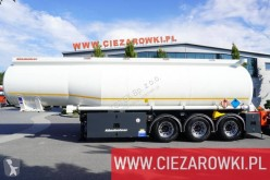 Kässbohrer oil/fuel tanker semi-trailer STB 39/4 , 4 chambers , 39m3 , ADR , LIKE NEW