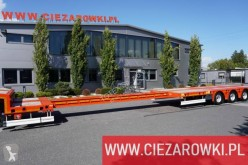 Semi remorque Kässbohrer LB3E 3-axle low loader semi-trailer porte engins occasion