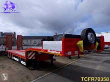 Kässbohrer heavy equipment transport semi-trailer SLS 3 Low-bed