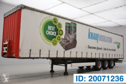 Krone Tautliner semi-trailer used tautliner