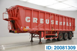 43 cub in alu semi-trailer used tipper