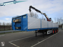 Pacton TPD 347 semi-trailer used flatbed
