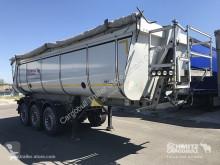 Semi remorque benne Schmitz Cargobull Kipper Stahlrundmulde Thermomulde 27m³