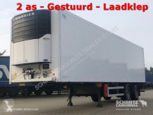 Semi remorque isotherme occasion Schmitz Cargobull Tiefkühler Standard Ladebordwand