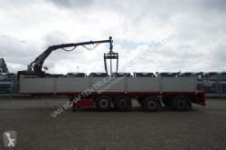 Semi Pacton 4 AXLE STONE TRANSPORT WITH KENNIS 11.000 CRANE