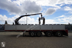 Semirremolque Semi Pacton 4 AXLE STONE TRANSPORT WITH KENNIS 11.000 CRANE