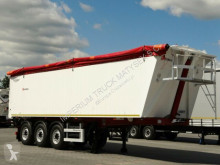Semi remorque benne Benalu TIPPER 49 M3 / WHOLE ALUMUNIUM/6180 KG/ PERFECT