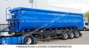 Semi remorque benne Stas STAS S300CX 55m³ Kippsattel Alu-Stahl Liftachse