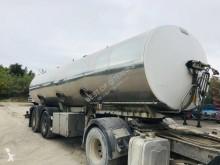 Félpótkocsi Magyar VO 0058 - CITERNE ALIMENTAIRE 2 ESSIEUX használt élelmiszerszállító/büfékocsi tartálykocsi