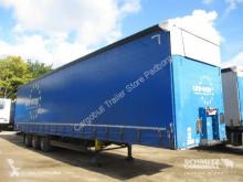 Semitrailer skjutbara ridåer (flexibla skjutbara sidoväggar) Schmitz Cargobull Schiebeplane Mega