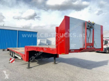 Heavy equipment transport semi-trailer Tieflader - RESTAURIERT