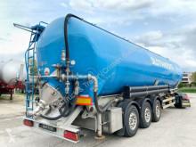 Félpótkocsi Spitzer SK 2760 CAL / FOOD - ALIMENTARY - LEBENSMITTEL használt por állományú anyagok szállítására alkalmas tartálykocsi