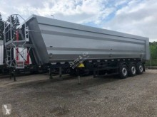 Kempf SKM 48 m3 like new semi-trailer used half-pipe