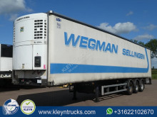 SOR IBERICA SP71 closed / curtain semi-trailer used mono temperature refrigerated