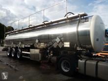 Semirremolque cisterna productos químicos Magyar ADR 3 assen 4 compartimenten =32550L met certificaat de jaugeage