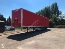 Semi remorque Fruehauf SEMI REMORQUE FRUEHAUF 3 ESS FOURGON 90 m3 HAYON ELEVATEUR PORTE FITT fourgon occasion