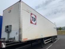 Semitrailer transportbil polybotten begagnad Fruehauf FOURGON 3 ESSIEUX