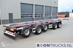 Semirimorchio D-TEC CT-60-05D | 20-30-40-45ft * 3 x STEERING AXLE * 4 x LIFT AXLE portacontainers usato