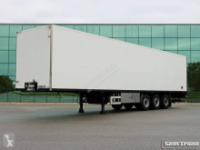 Semitrailer transportbil Van Eck UT-3I CLOSED BOX HEATER SAF AXLES DISC BRAKES TAIL LIFT