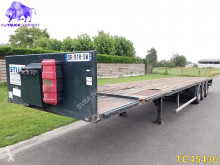 Trouillet Flatbed semi-trailer used flatbed