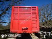 Used timber semi-trailer Leciñena