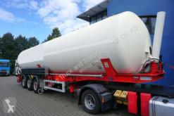Félpótkocsi Feldbinder KIP 60.3 használt por állományú anyagok szállítására alkalmas tartálykocsi
