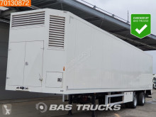 Ravenhorst Poultry / Chick / Birds Transport Lenkachse Ladebordwand semi-trailer used poultry