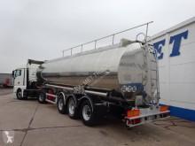 Used chemical tanker semi-trailer BSLT 3 ESSIEUX – CITERNE CHIMIQUE ALUMINIUM – ADR