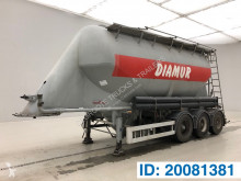 Kässbohrer Cement Bulk semi-trailer used tanker