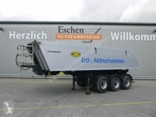 Semitrailer Meiller Kisa 3-Achs 23 m³ Alu-Kastenmulde, BPW,Luft/Lift flak begagnad