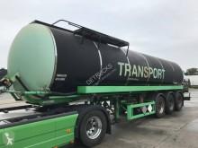 Used Tar tanker semi-trailer Hendrick BITUM /INOX 1,4541 / L4BH / ADR FL AT