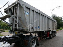 Stas S34-3A semi-trailer used tipper