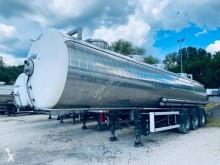 Maisonneuve 4 compartiments semi-trailer used chemical tanker