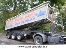 Félpótkocsi nc MÜLLER ALU MULDE 26 m3 használt billenőkocsi