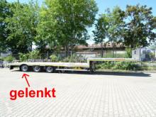 Félpótkocsi Möslein 3 Achs Satteltieflader Plato 45 t GGfür Fertigt új gépszállító